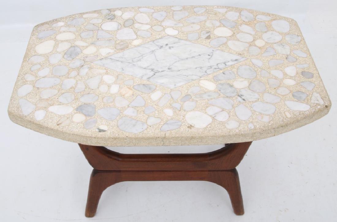 Danish Modern Style Side Table - 3