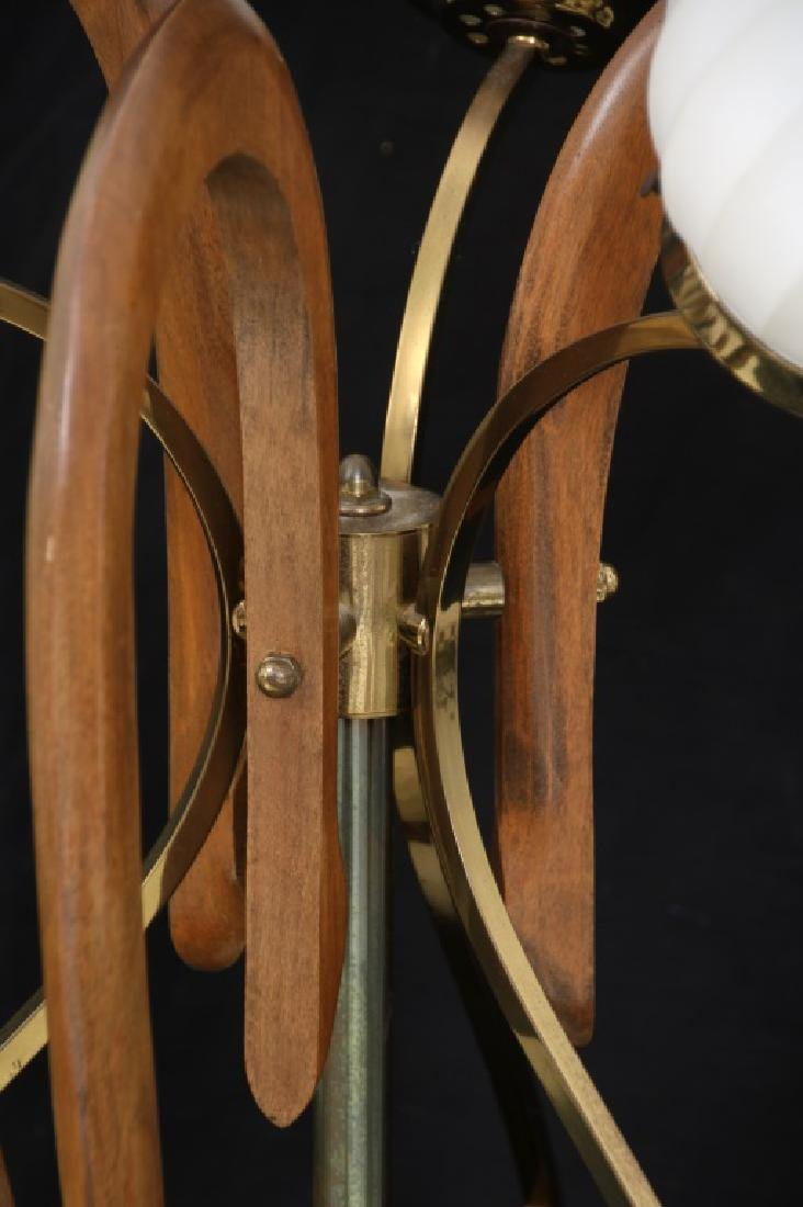 Pr. Adrian Pearsall Walnut Table Lamps - 4