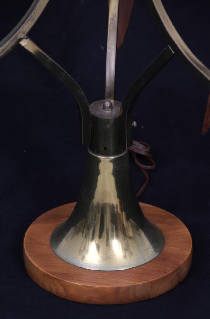 Pr. Adrian Pearsall Walnut Table Lamps - 5