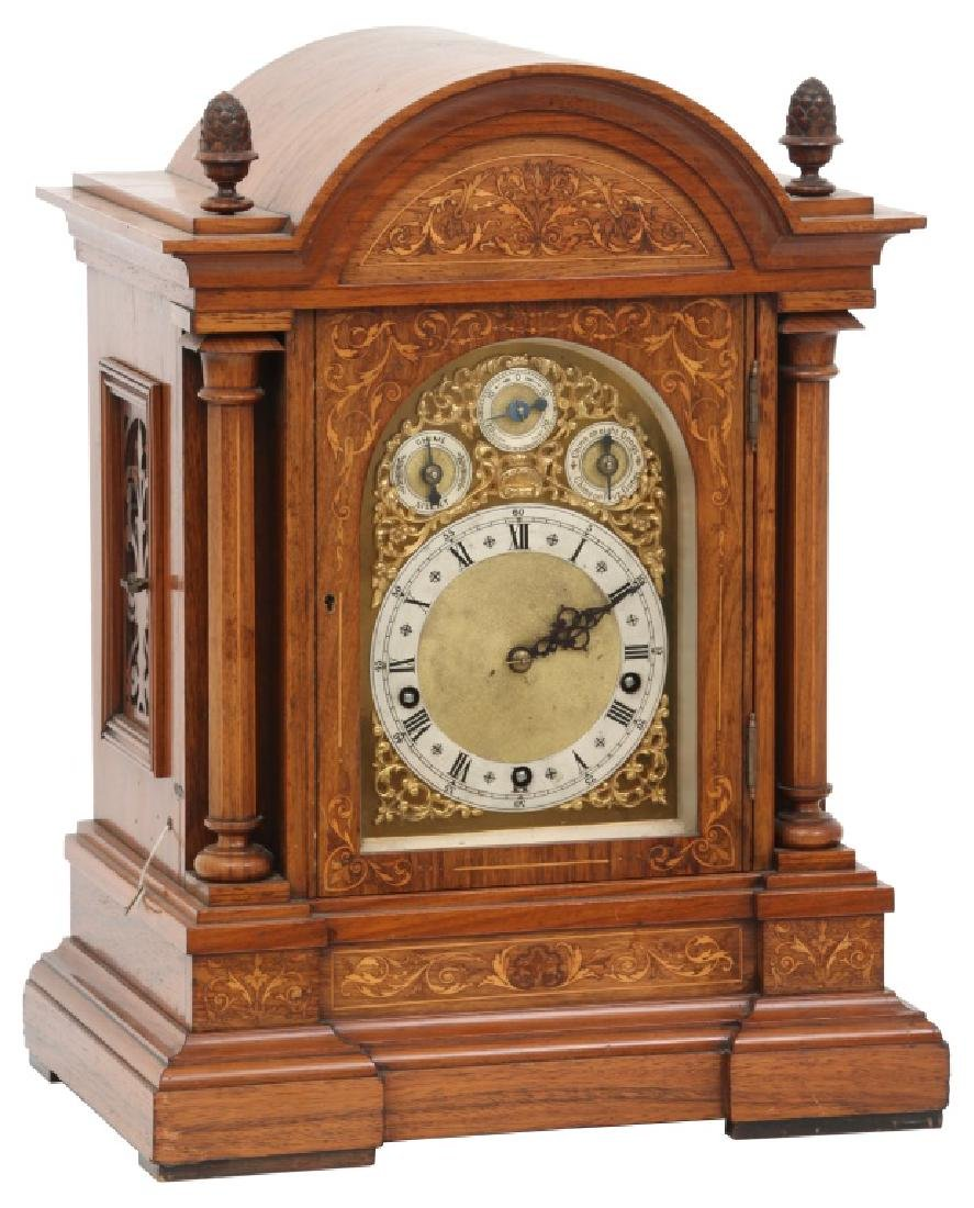 Winterhalder & Hofmeier Inlaid Bracket Clock