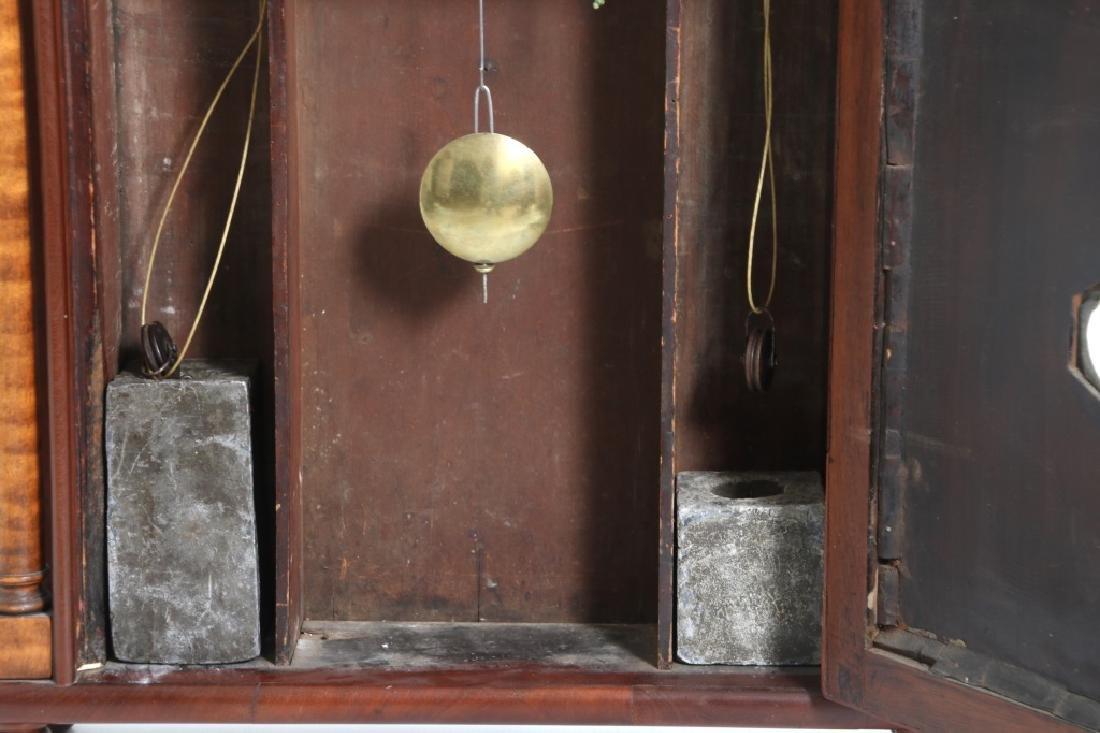 Rare Maryland Pillar & Scroll Clock - 10