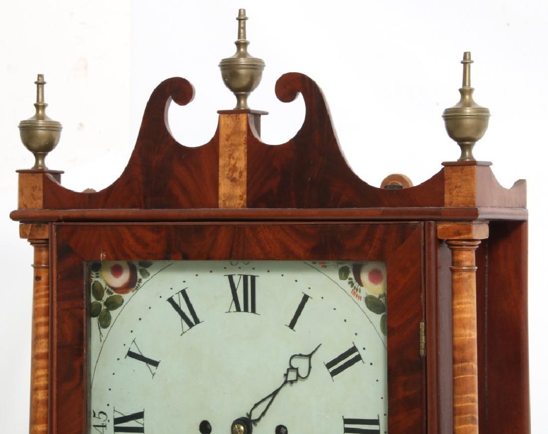 Rare Maryland Pillar & Scroll Clock - 3