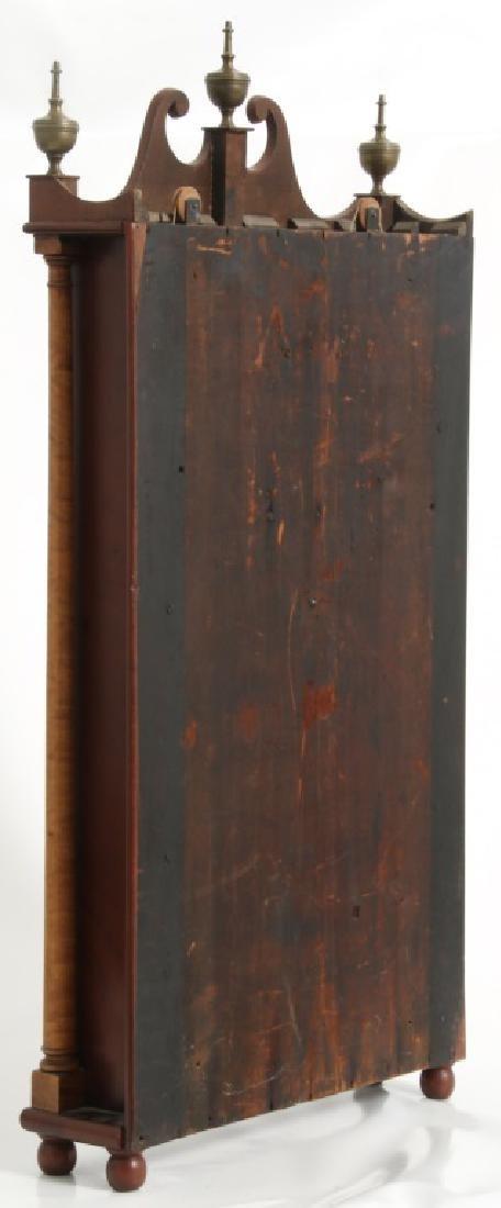 Rare Maryland Pillar & Scroll Clock - 6