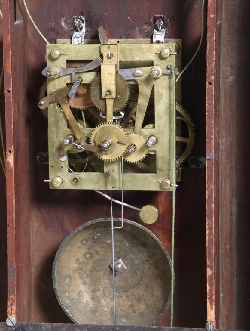 Rare Maryland Pillar & Scroll Clock - 9