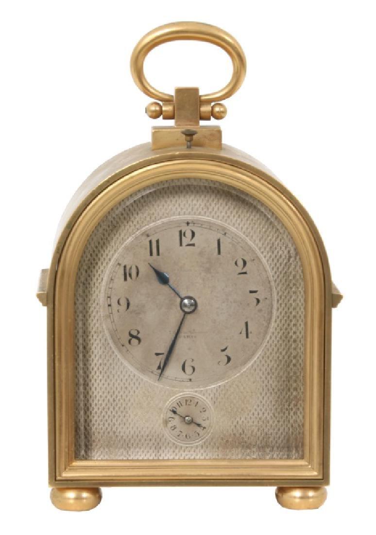 Le Roy Quarter Hour Repeater Carriage Clock