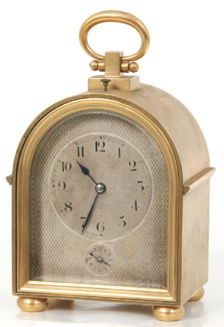 Le Roy Quarter Hour Repeater Carriage Clock - 2