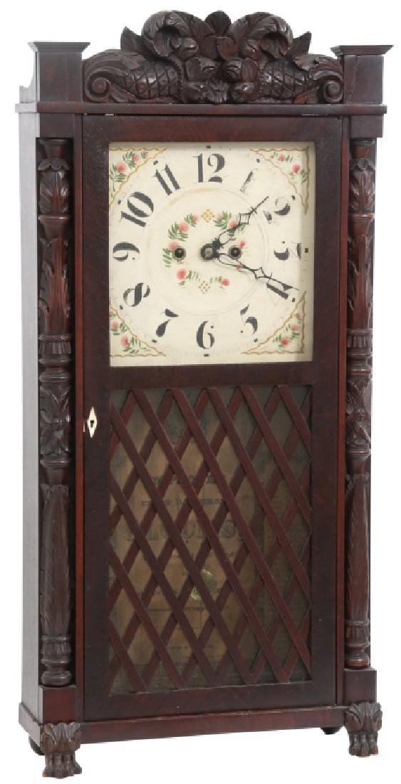 Rare Johnston & Melhorn, Maryland Shelf Clock