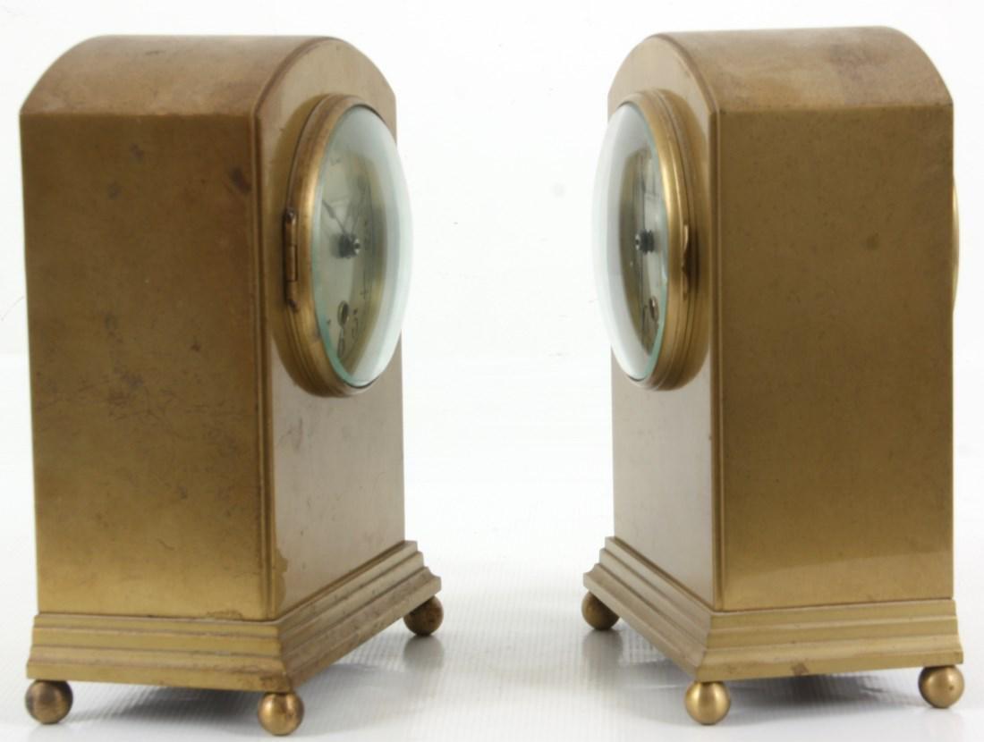 Pr. Chelsea Brass Boudoir Clocks - 2