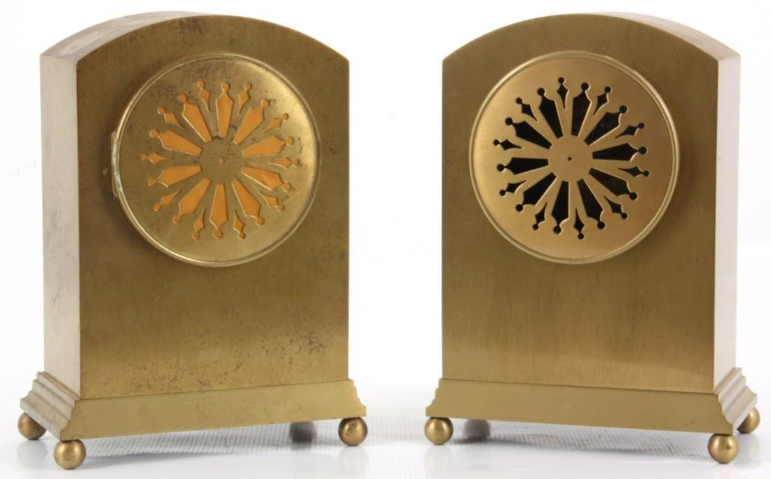 Pr. Chelsea Brass Boudoir Clocks - 3
