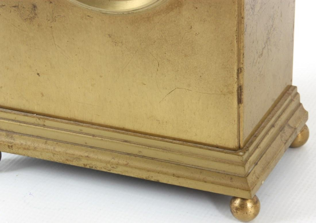 Pr. Chelsea Brass Boudoir Clocks - 5