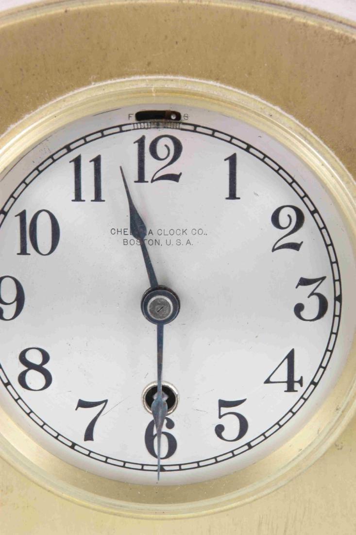 Pr. Chelsea Brass Boudoir Clocks - 7