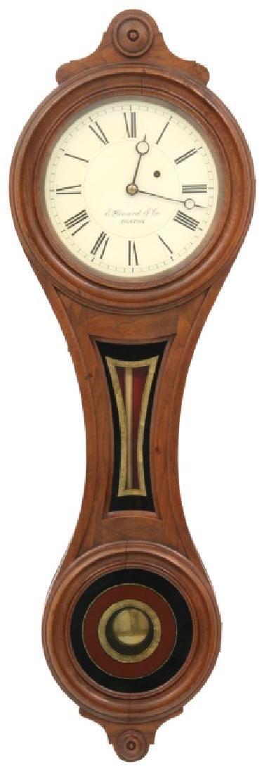 E. Howard No. 9 Figure Eight Wall Clock