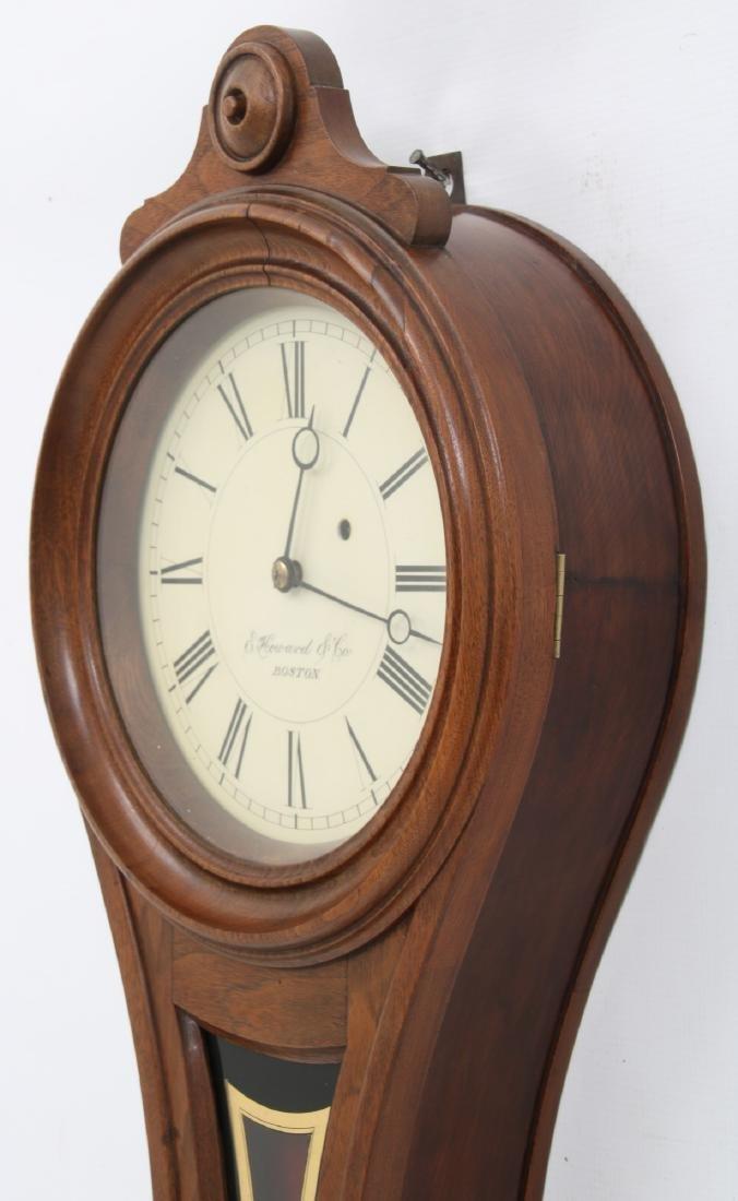 E. Howard No. 9 Figure Eight Wall Clock - 3