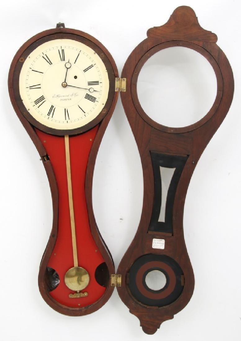 E. Howard No. 9 Figure Eight Wall Clock - 4