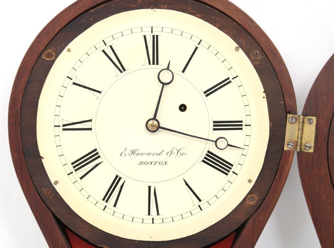 E. Howard No. 9 Figure Eight Wall Clock - 7