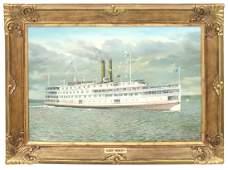 Albert Nemethy O/C Trojan Steam Ship