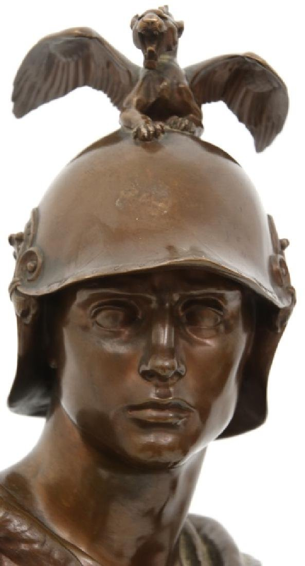 "F. Barbedienne Bronze ""Le Courage Militaire"" - 3"