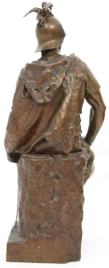 "F. Barbedienne Bronze ""Le Courage Militaire"" - 8"