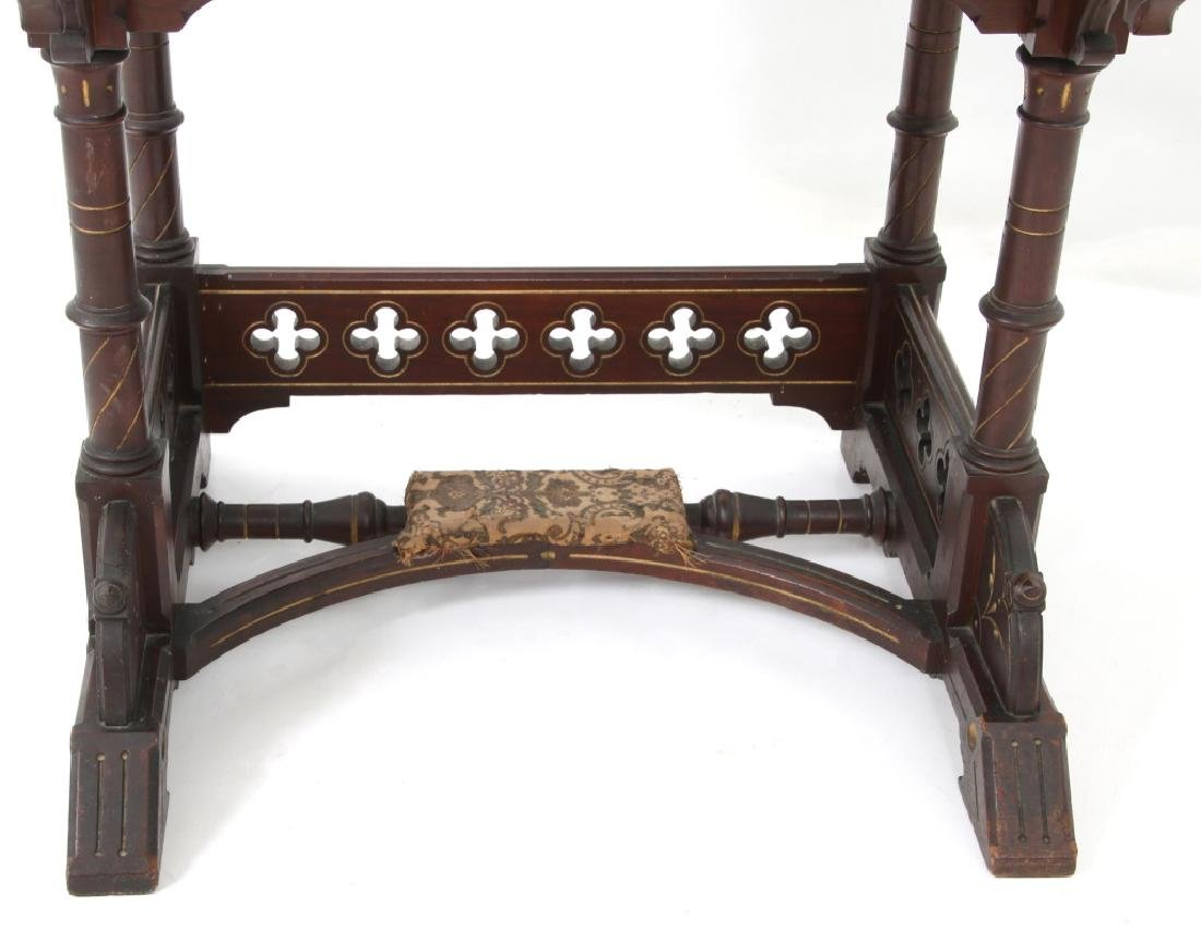 19th Century Gothic Walnut Davenport Desk - 5