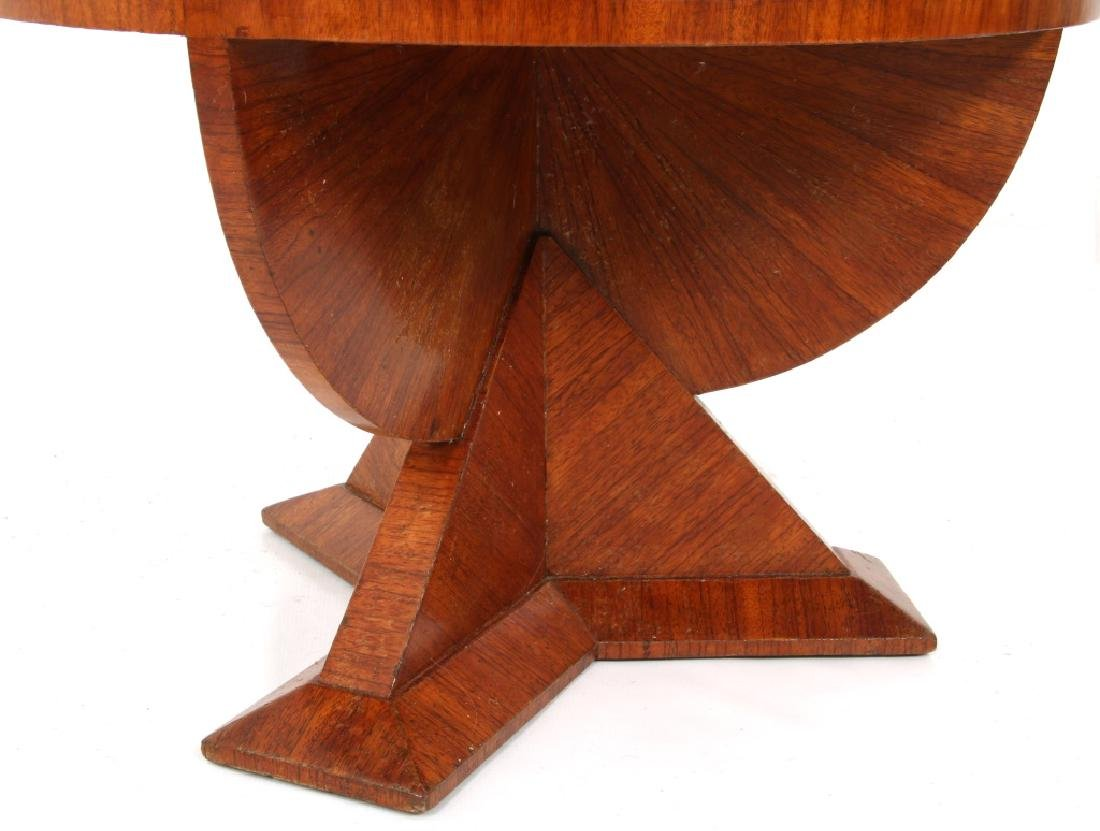 Czech Rosewood 35 Inch 2 Tier Cubist Table - 6