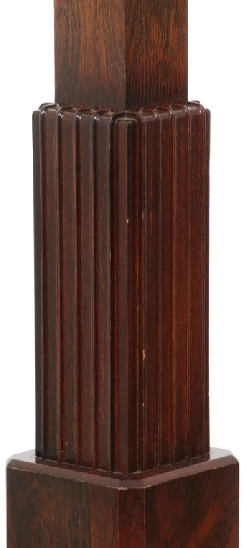 French Rosewood Skyscraper Torchiere, c.1930's - 5