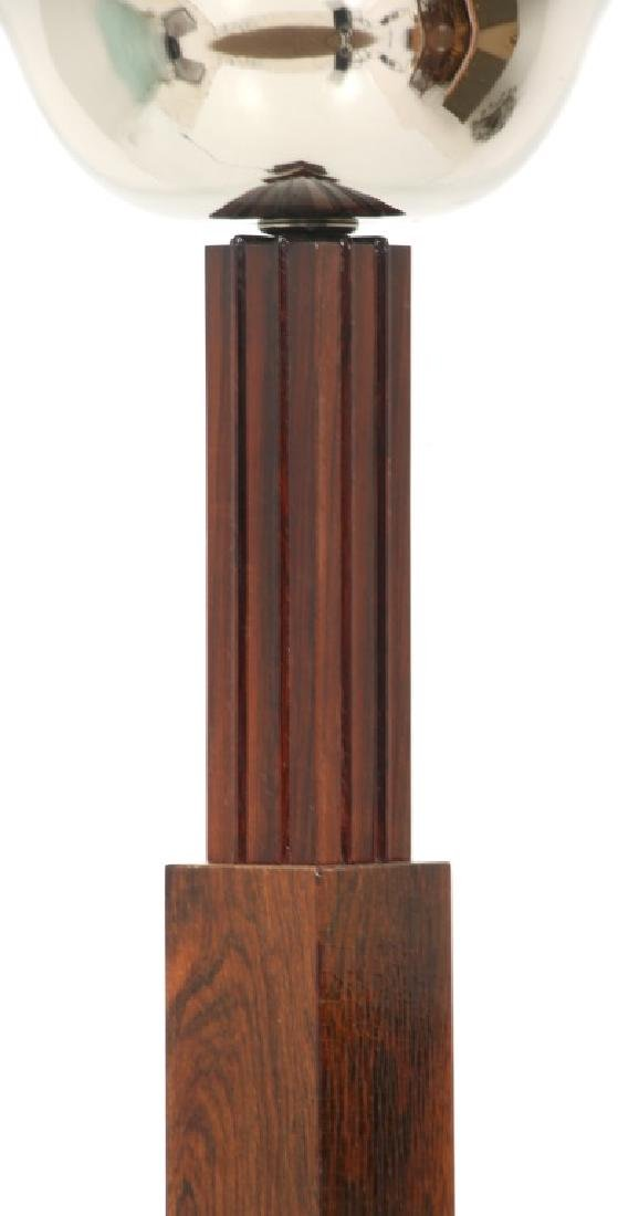 French Rosewood Skyscraper Torchiere, c.1930's - 6