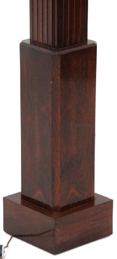 French Rosewood Skyscraper Torchiere, c.1930's - 8