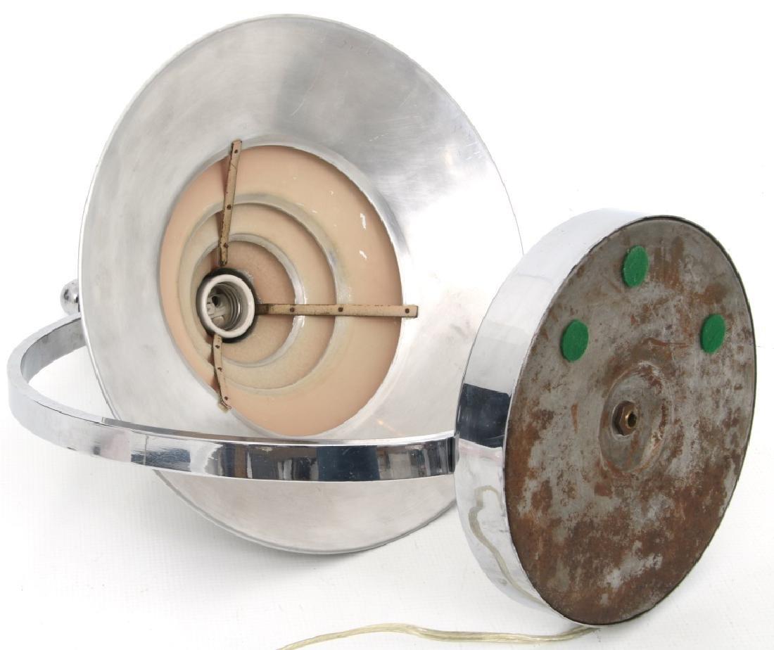 Markel Co. Machine Age Moderne Harp Table Lamp - 8
