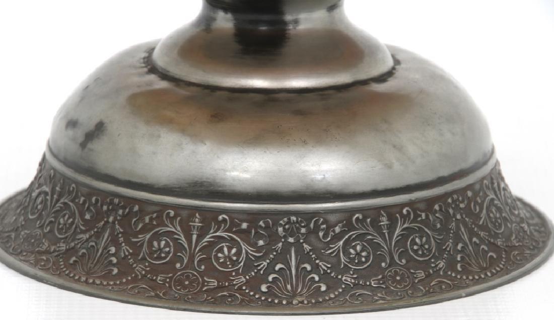 Steuben Aurene Footed Art Glass Bowl - 2