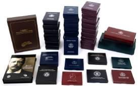 39 American Commemorative Coin Sets & Singles