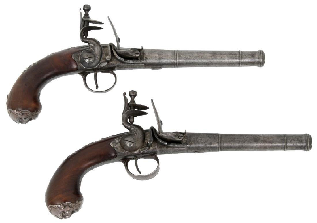Pair of Marked Collumbell, London Pistols