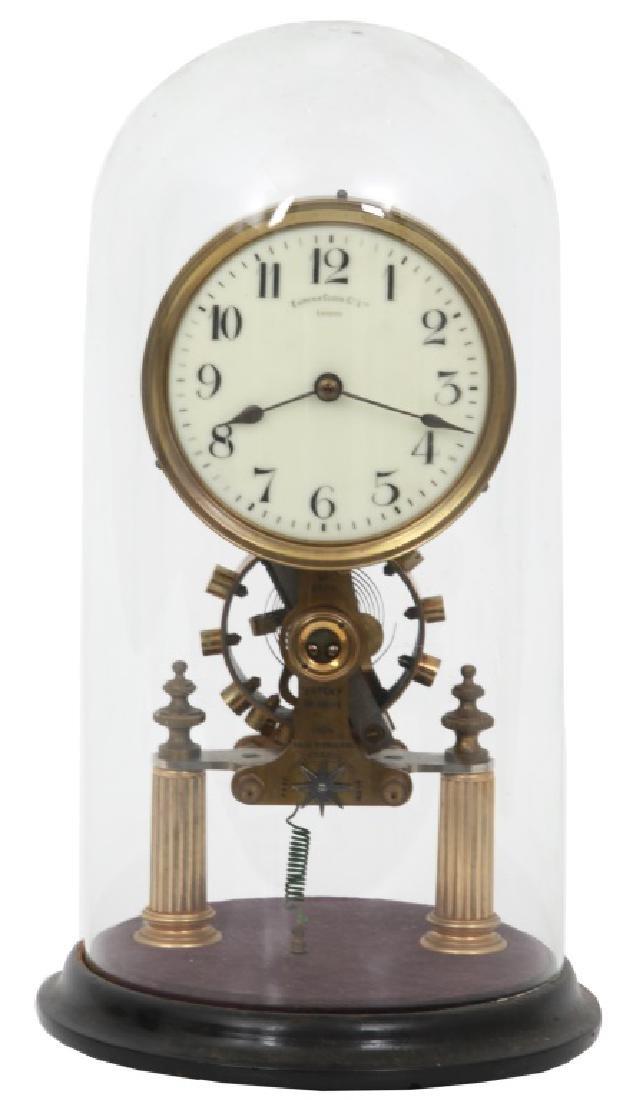 Eureka Electric Mantle Clock w/ Dome