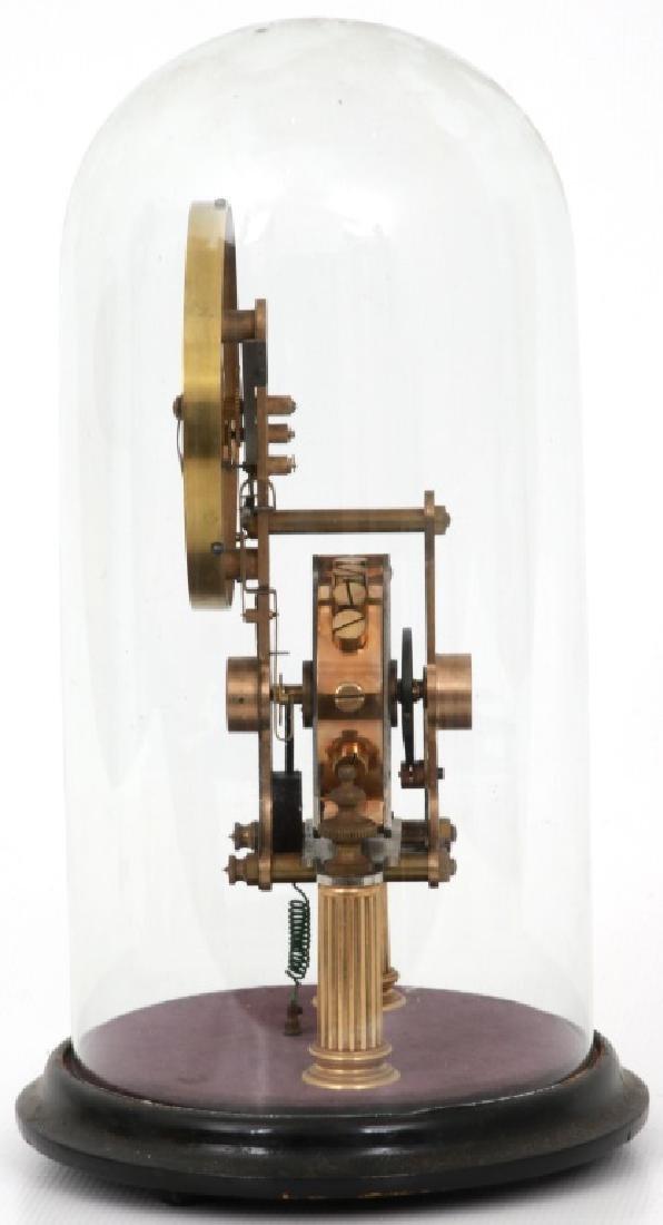 Eureka Electric Mantle Clock w/ Dome - 2