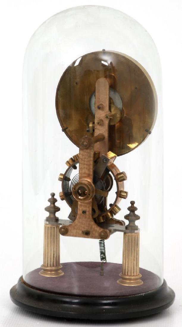 Eureka Electric Mantle Clock w/ Dome - 3