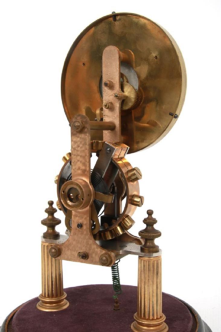 Eureka Electric Mantle Clock w/ Dome - 4