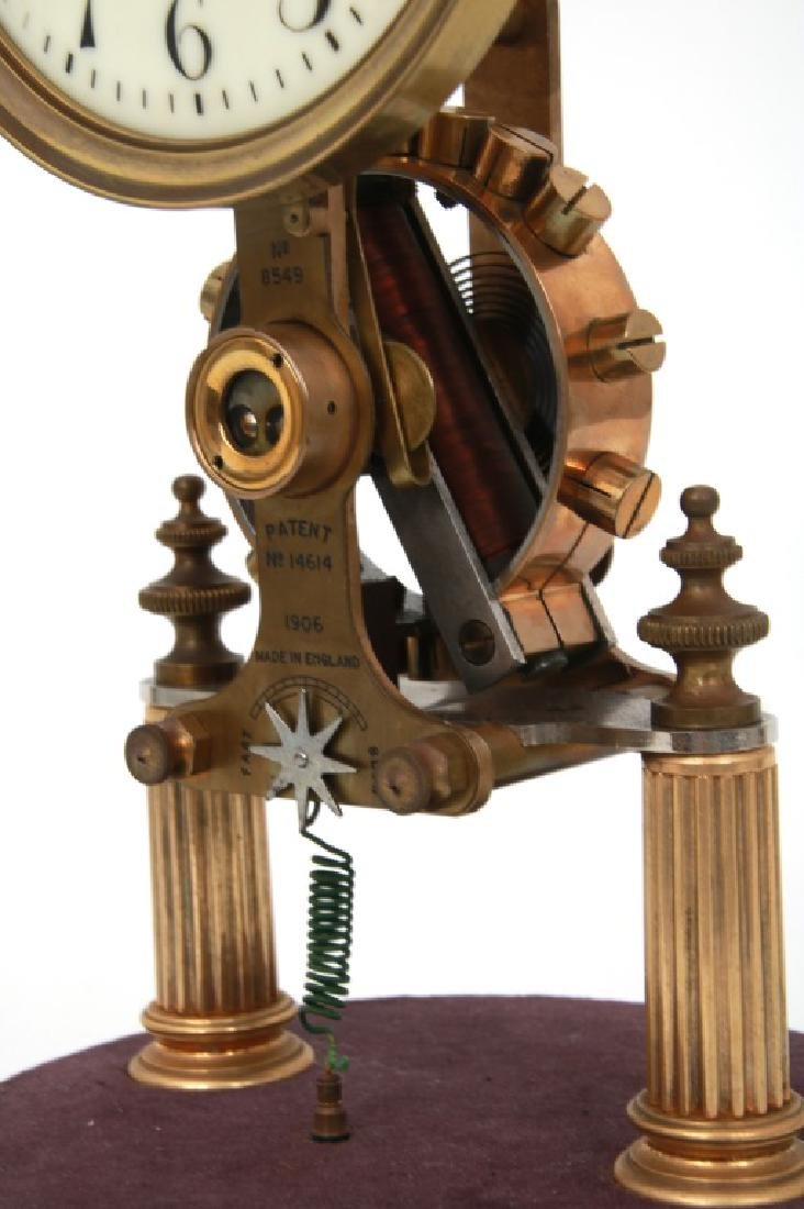 Eureka Electric Mantle Clock w/ Dome - 5