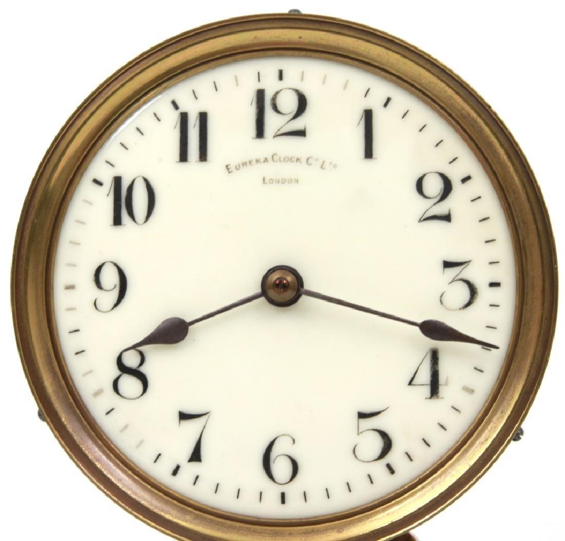 Eureka Electric Mantle Clock w/ Dome - 6