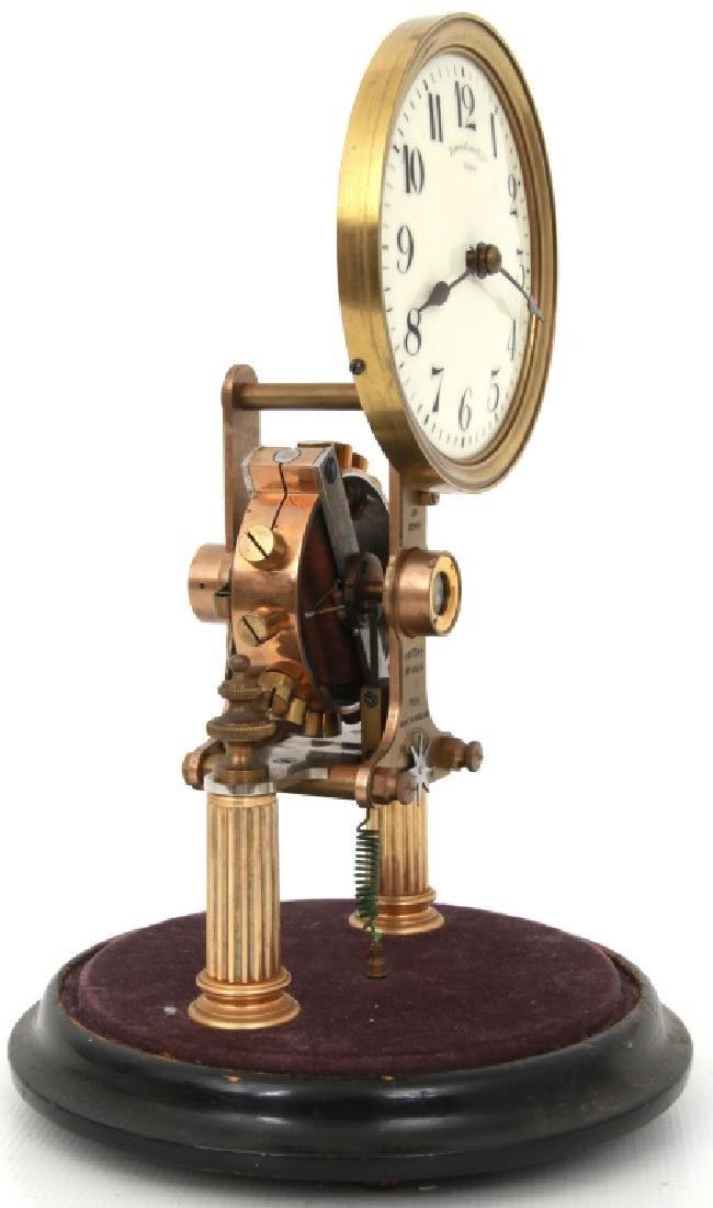 Eureka Electric Mantle Clock w/ Dome - 7