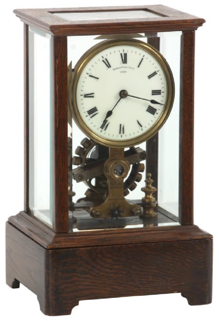 Eureka Electric Crystal Regulator Clock