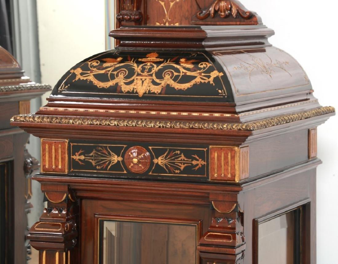 Attr. Pottier & Stymus Rosewood Parlor Cabinet - 10
