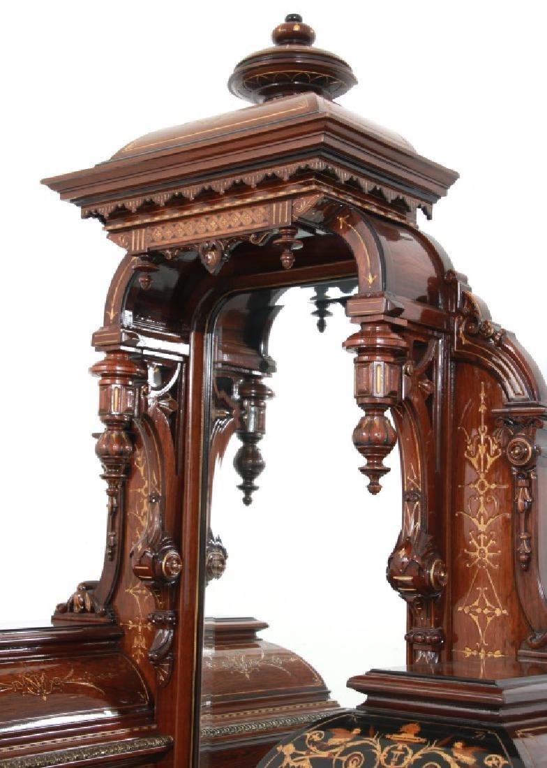 Attr. Pottier & Stymus Rosewood Parlor Cabinet - 3