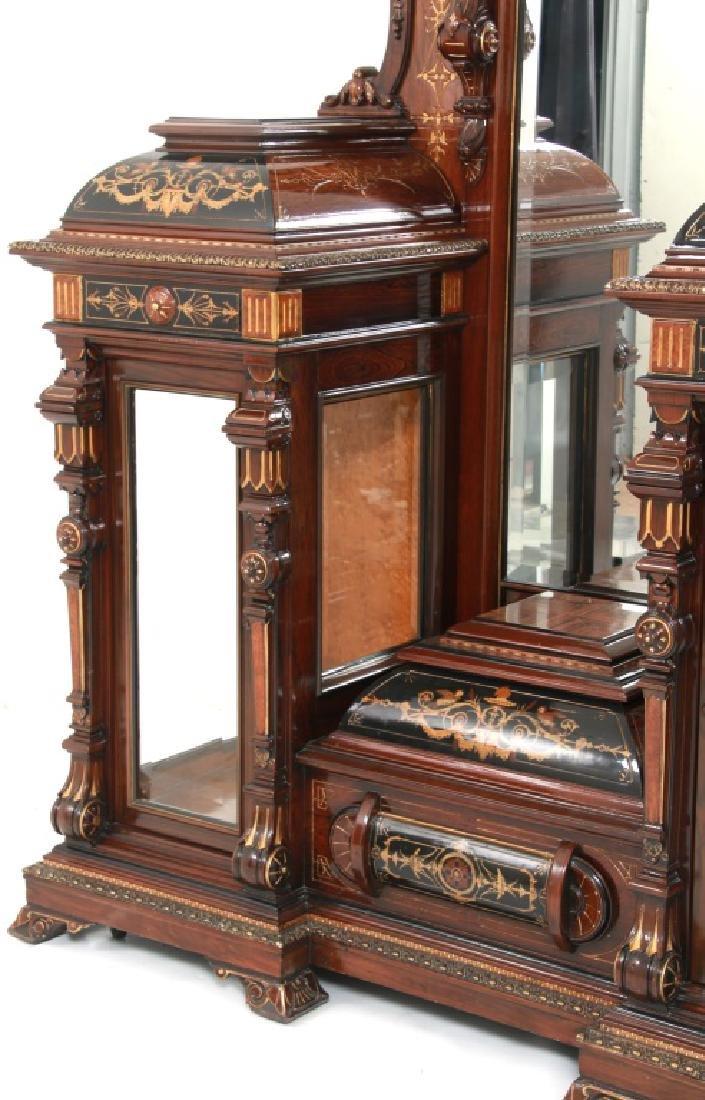 Attr. Pottier & Stymus Rosewood Parlor Cabinet - 9