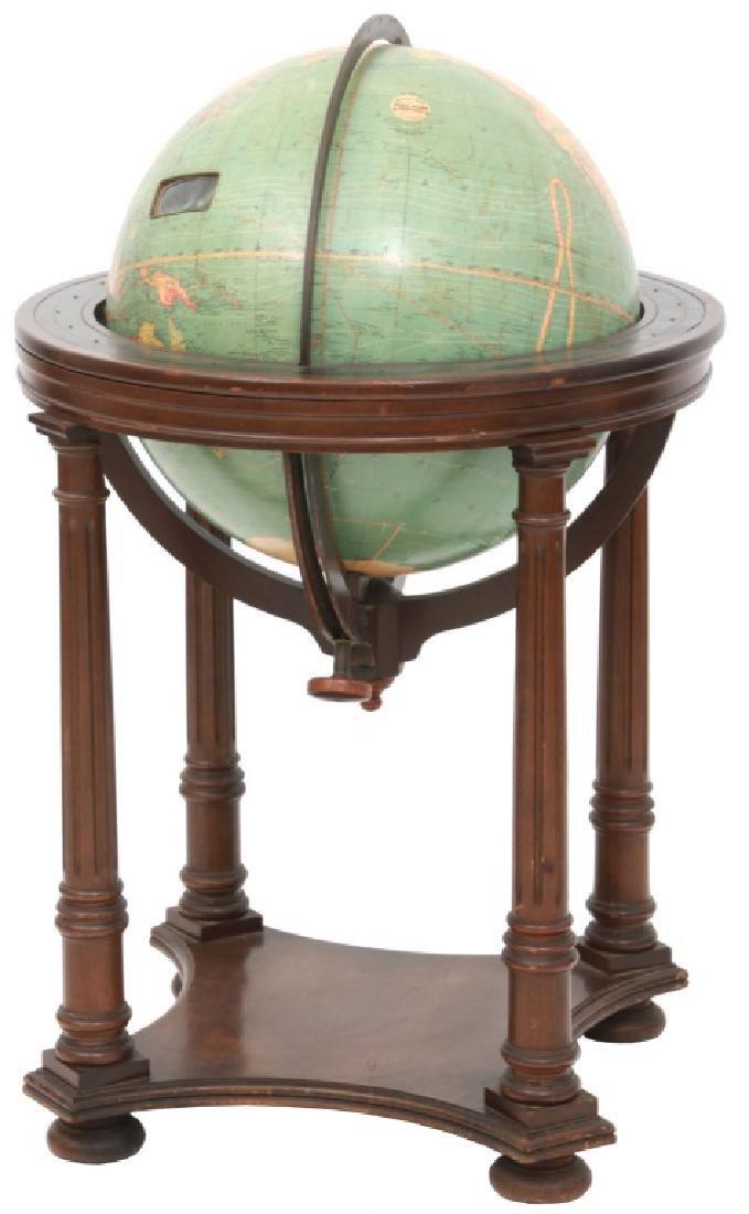18 in. Index Globe Co. Mechanical Floor Globe - 10