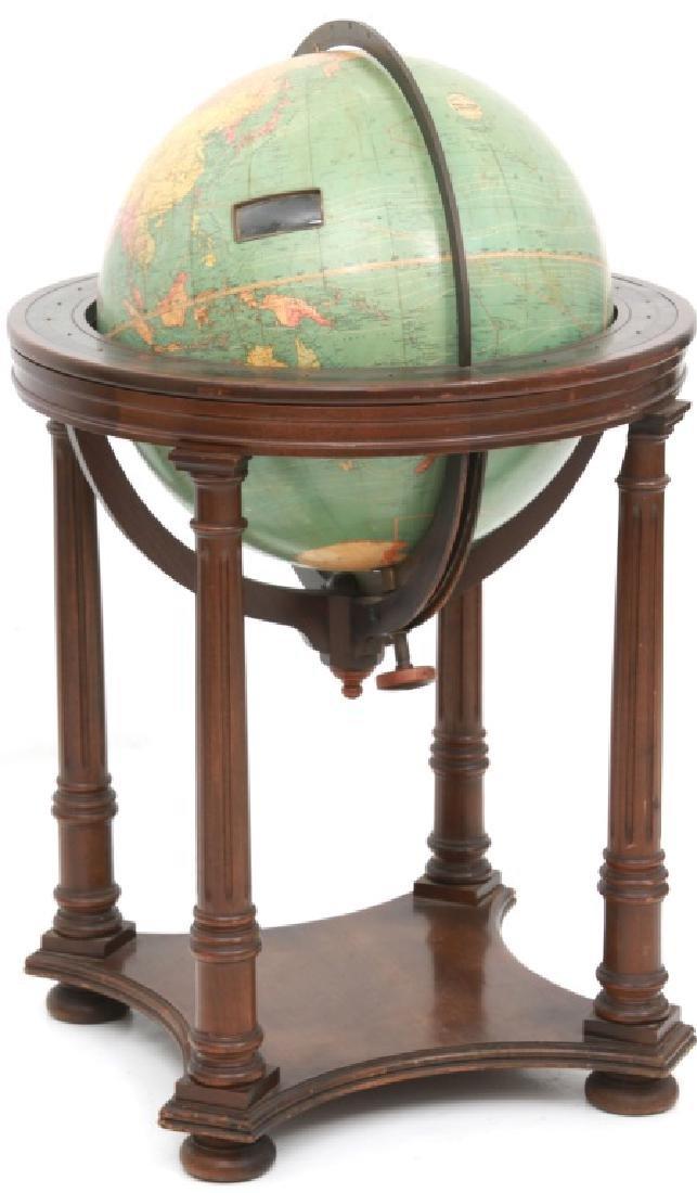 18 in. Index Globe Co. Mechanical Floor Globe