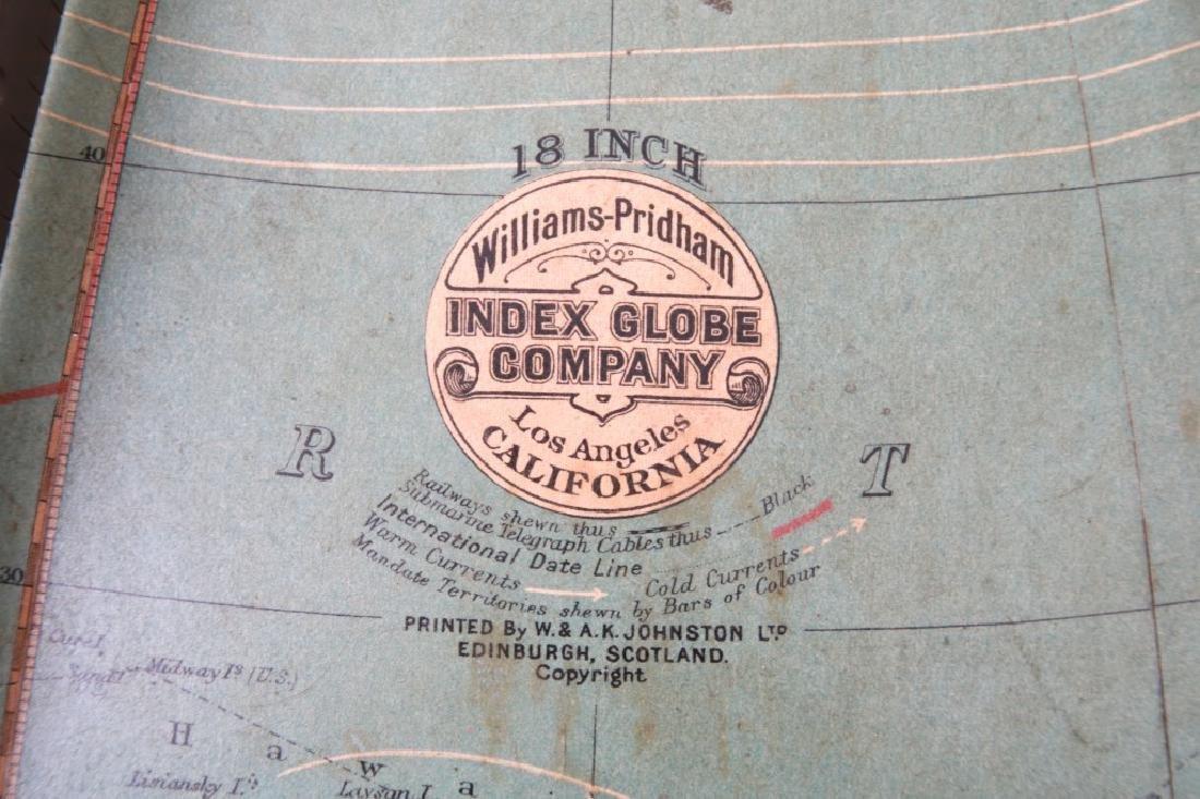 18 in. Index Globe Co. Mechanical Floor Globe - 2