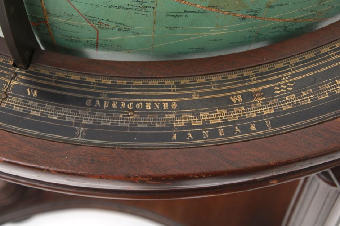 18 in. Index Globe Co. Mechanical Floor Globe - 4