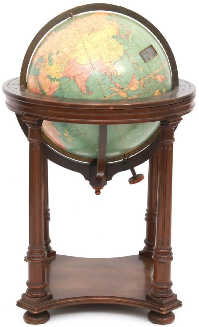 18 in. Index Globe Co. Mechanical Floor Globe - 5