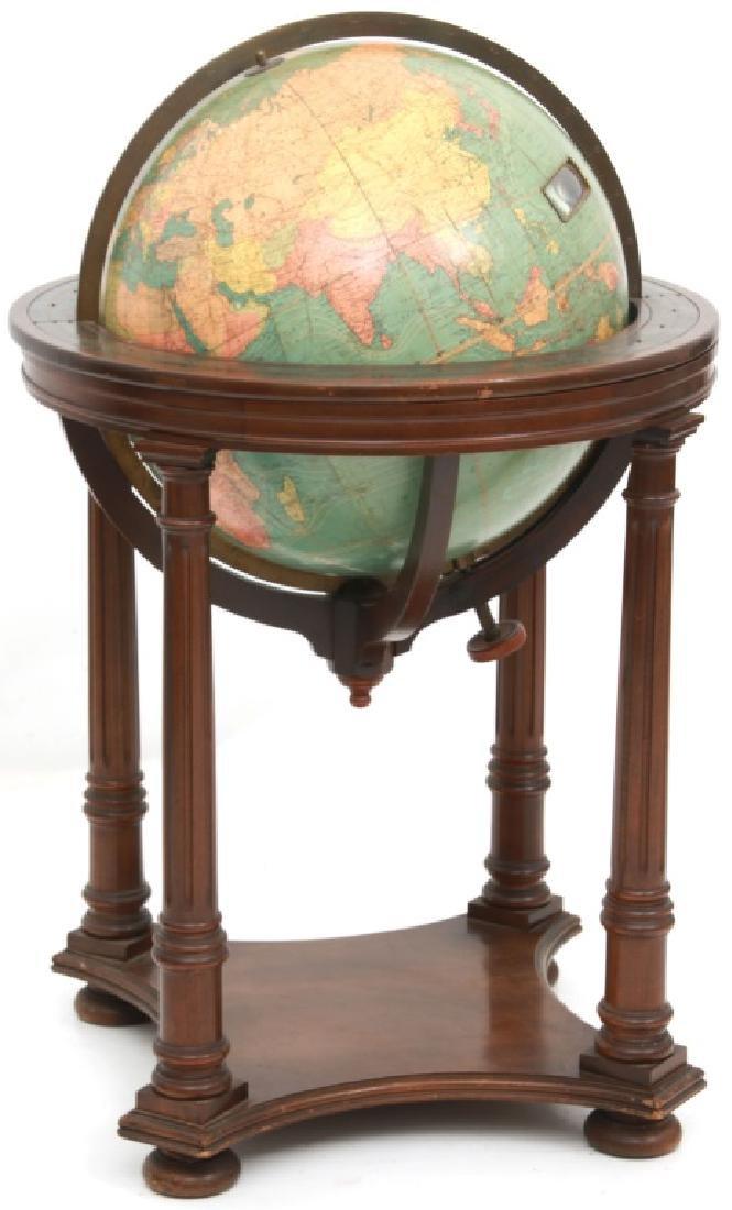 18 in. Index Globe Co. Mechanical Floor Globe - 6