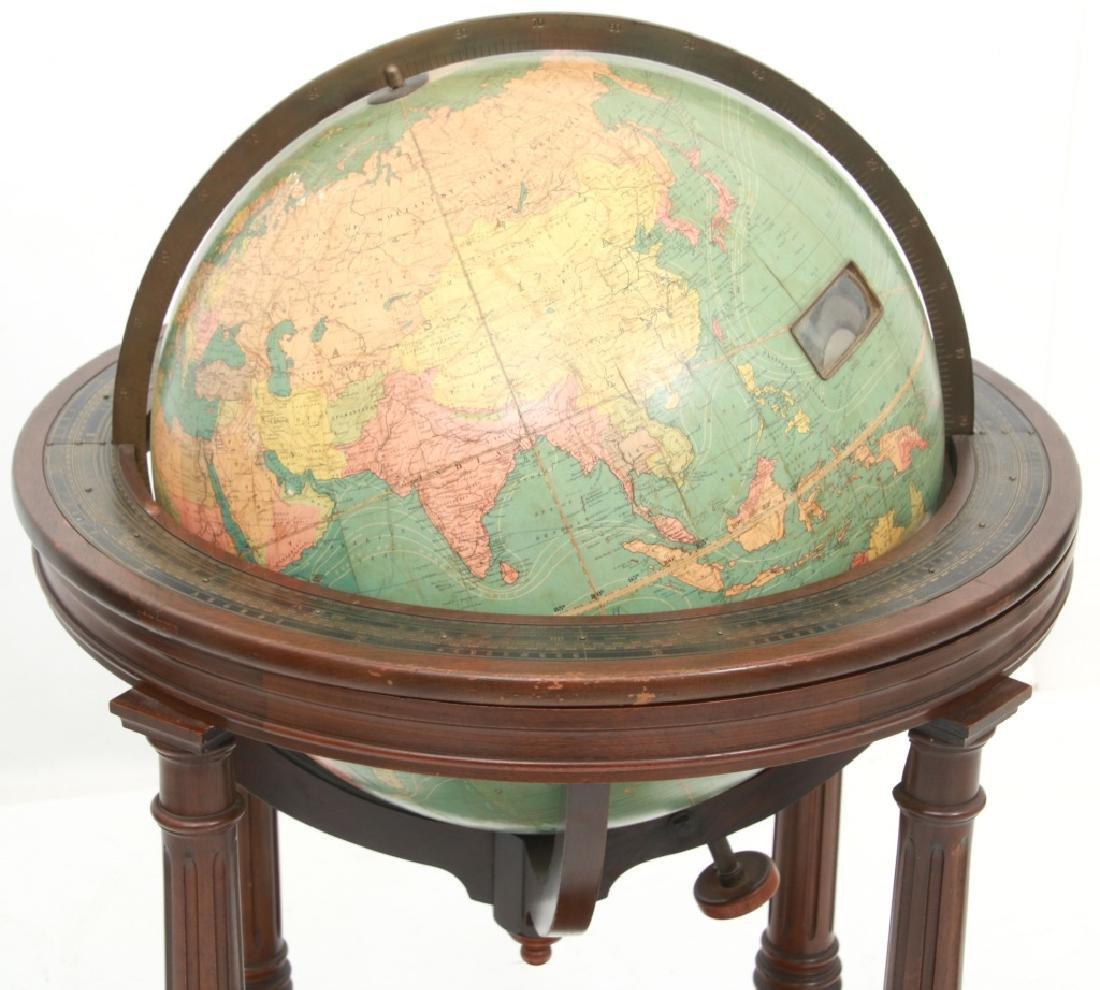 18 in. Index Globe Co. Mechanical Floor Globe - 7
