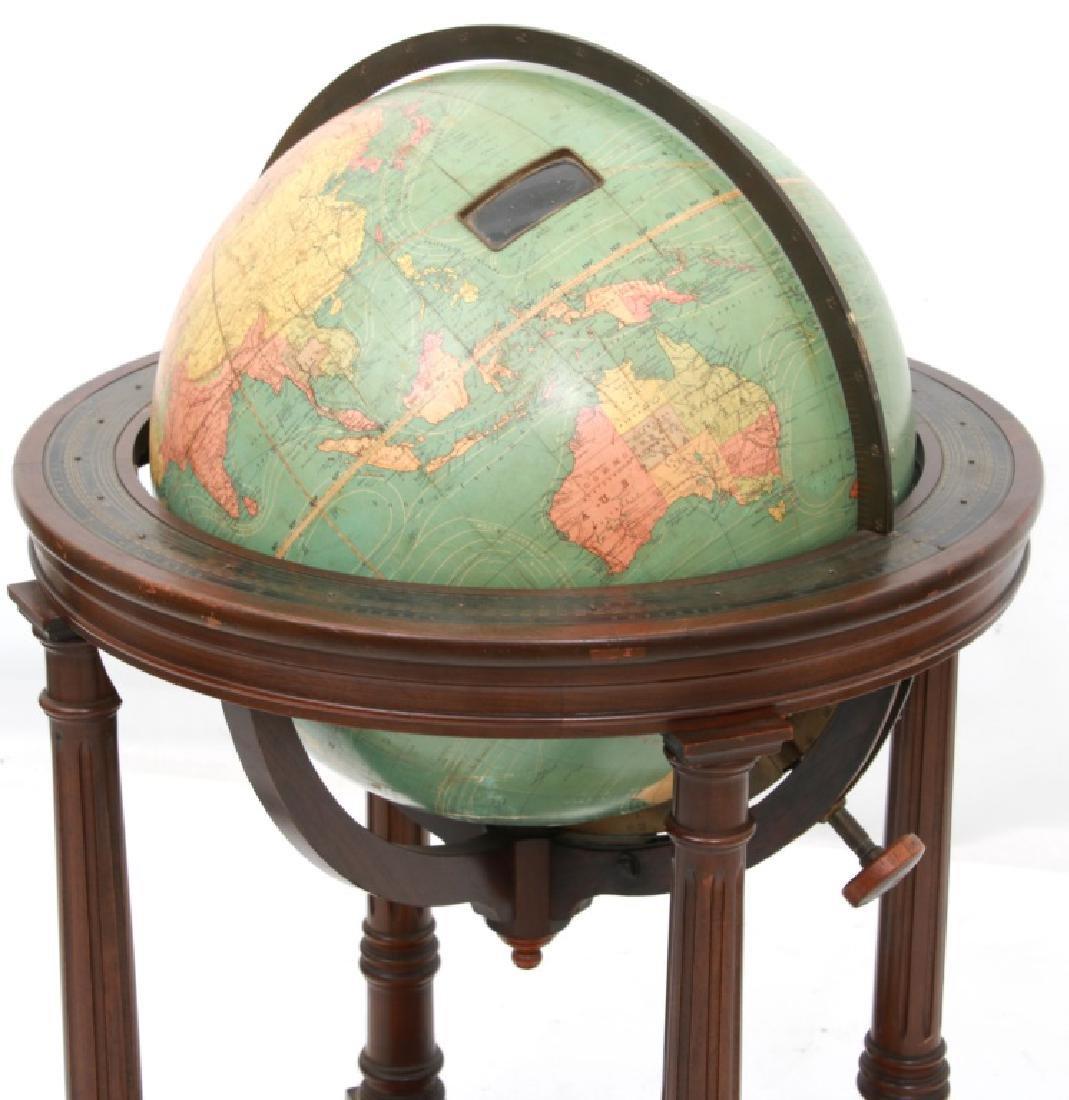 18 in. Index Globe Co. Mechanical Floor Globe - 8